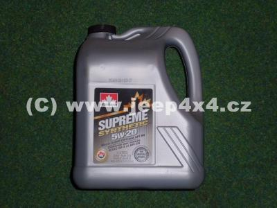 olej motoru Jeep 5W20 syntetic 5l